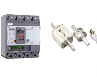 Difference Between Fuse & Circuit Breaker