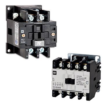 2 & 4 Pole Low Voltage Contactors  Pole Contactor No Nc Wiring Diagram on