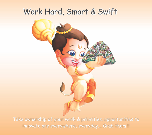 Work Hard, Smart & Swift