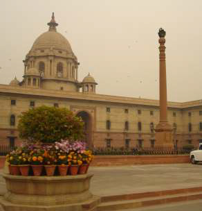 North Block - South Block