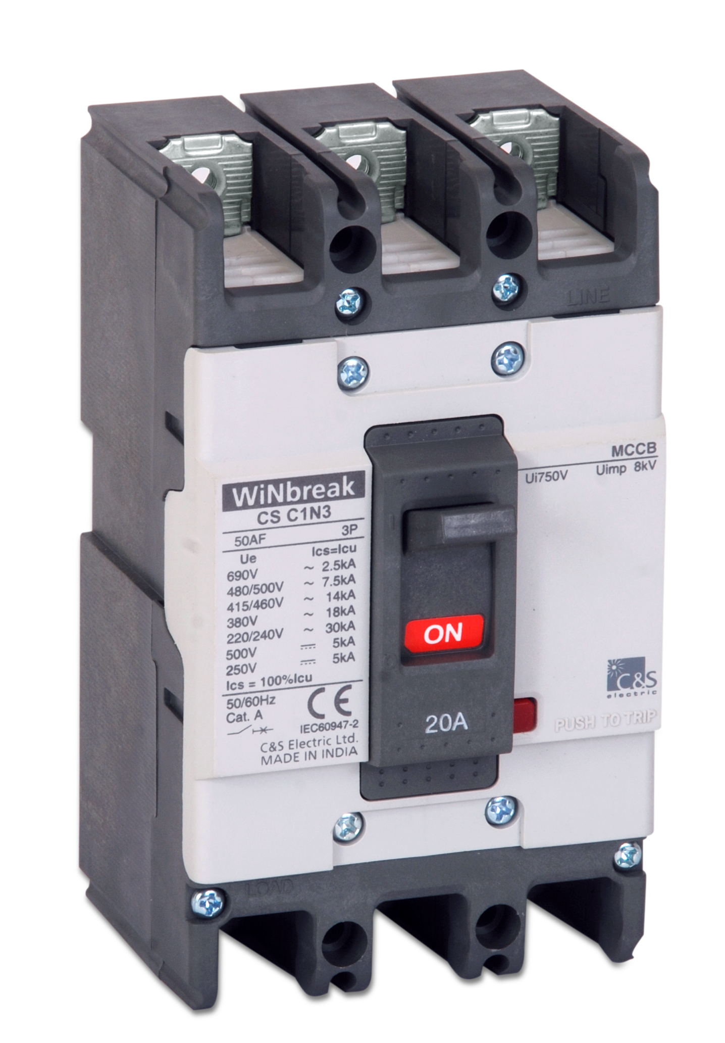 Moulded Case Circuit Breakers Mccb Cs Electric Trippingcircuitbreakerpaneljpg Winbreak