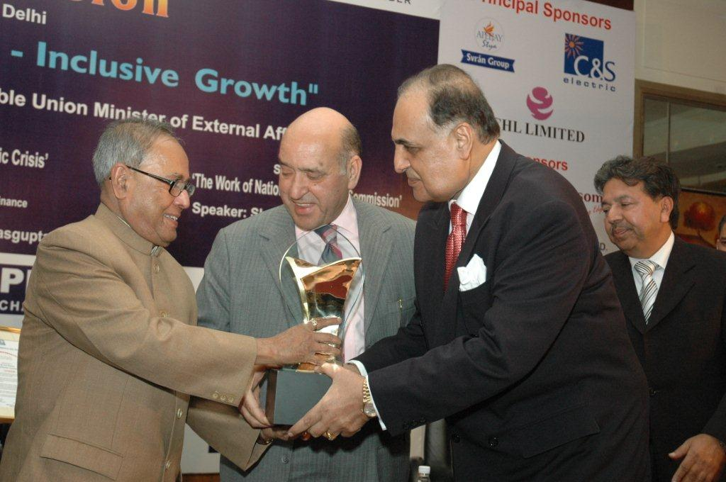 PHD Chamber Distinguished Entrepreneurship Award for the year 2008